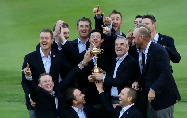 APTOPIX Britain Ryder Cup Golf